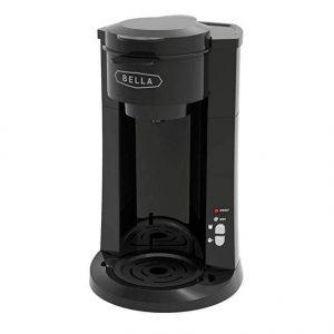 BELLA Dual Brew Single Serve Coffee Maker