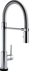 delta trinsic pro touch2o kitchen faucet
