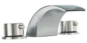 standard kitchen faucet hole size