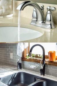 difference between bathroom and kitchen faucets