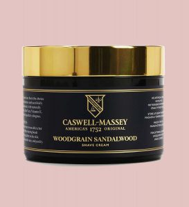 Caswell massey sandalwood shave cream for all natural